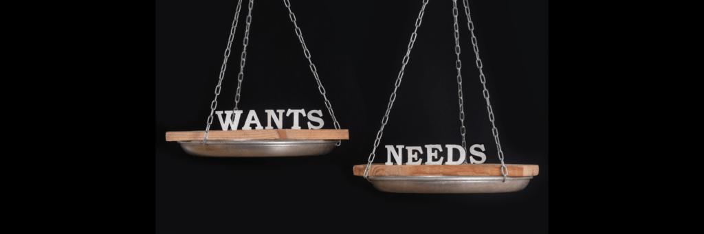 Custom Home Building: Need vs Want