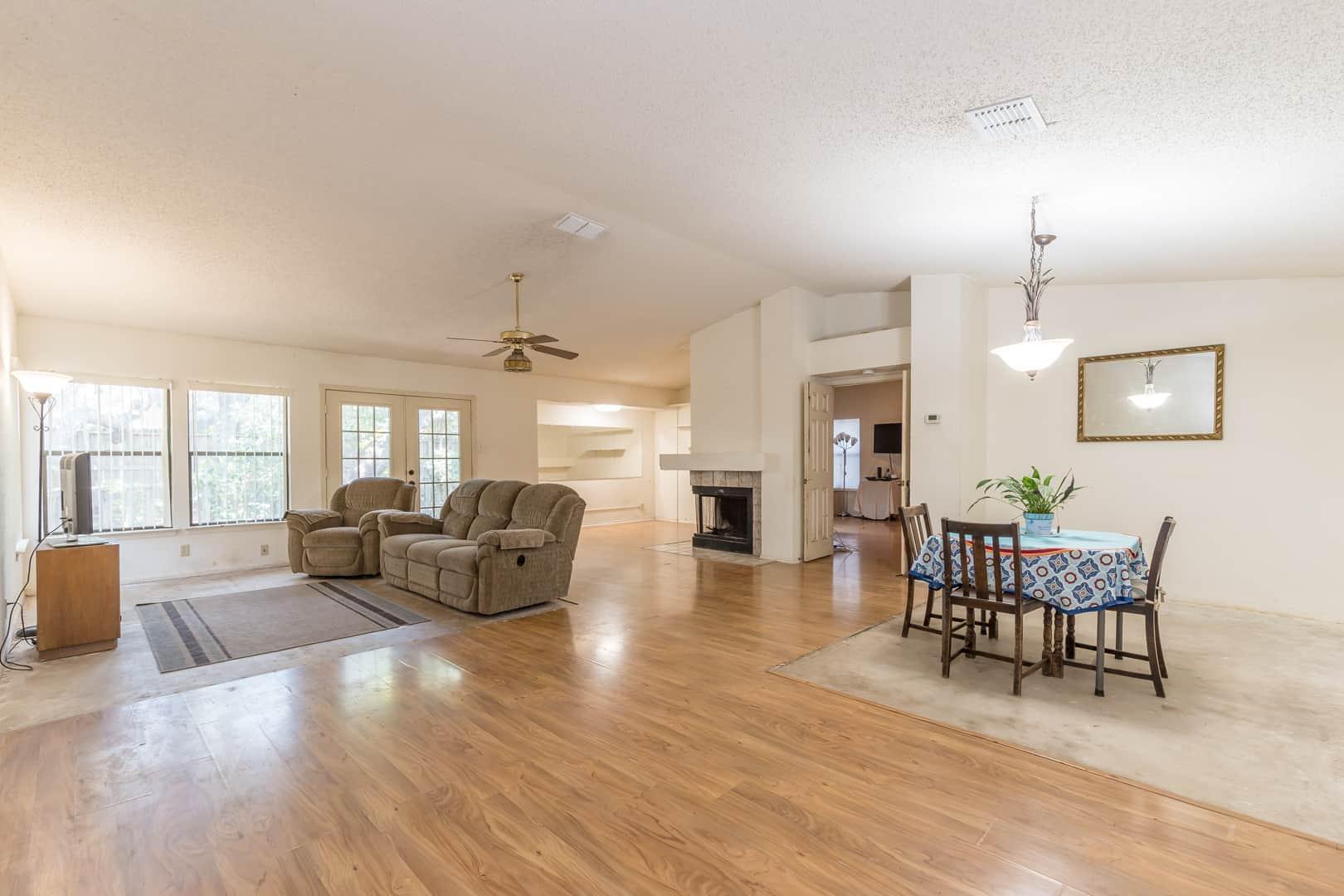 Larimer Square Living Room